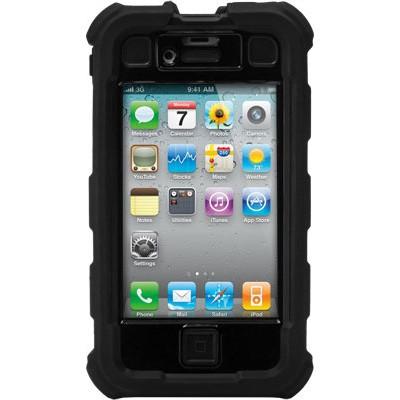 iPhone 4/4S Ballistic Hard Core (HC) Series Case - Black/Black