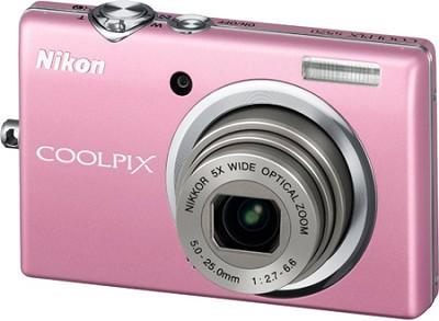 COOLPIX S570 12MP Digital Camera (Pink)