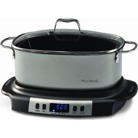 84966 Versatility Oval-Shaped 6-Quart Programmable Slow Cooker