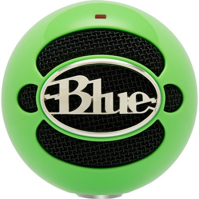 Snowball USB Microphone - Neon Green