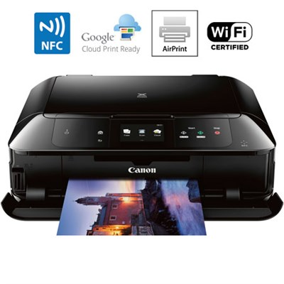 MG7720 Printer Scanner & Copier with Wi-Fi Airprint & Cloud Print Ready (Black)