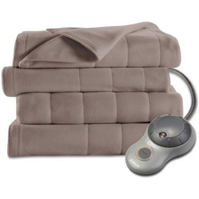 Twin Quilted Fleece Heated Blanket - BSF9GTS-R772-13A00