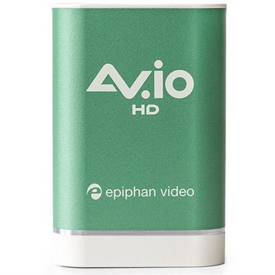 AV.io HD - Grab and Go USB video capture for VGA, DVI, and HDMI up to 1080p at 6