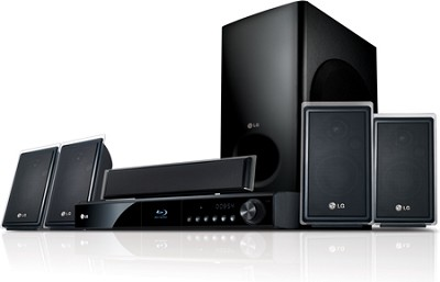 LHB535 - Blu-ray Disc High-definition Home Theater System