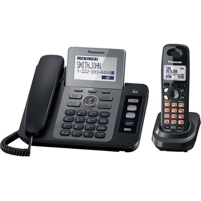 KX-TG9471B Two Line Expandable Digital Answering System with Contact Sync