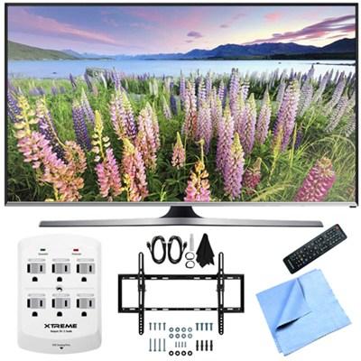 UN50J5500 - 50-Inch Full HD 1080p Smart LED HDTV Flat & Tilt Wall Mount Bundle