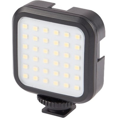Hot Shoe Rechargeable LED Video Light for Cameras & Videos Camers