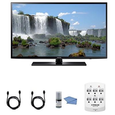 UN50J6200 - 50-Inch Full HD 1080p 120hz Smart LED HDTV + Hookup Kit