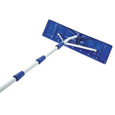 Roofer Joe Telescoping Snow Shovel Roof Rake - RJ203M