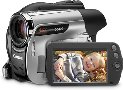 DC-420 DVD Camcorder with 48x Advanced  Zoom