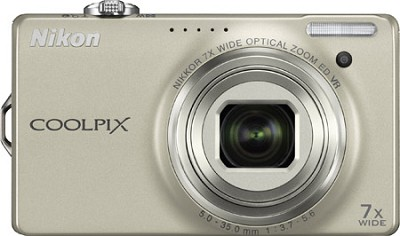 COOLPIX S6000 14.2 Megapixel Digital Camera (Champagne Silver)