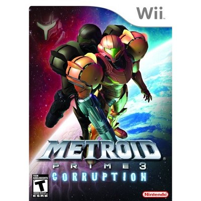Wii Metroid Prime 3: Corruption