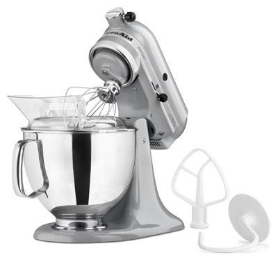 Artisan Series 5-Quart Tilt-Head Stand Mixer in Caviar - KSM150PSCV