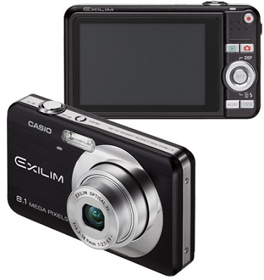 Exilim EX-Z80 8.1MP Digital Camera with 2.6` LCD (Black)
