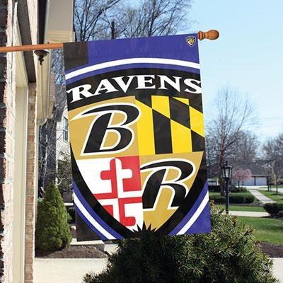 Ravens 2'x3' Bold Logo Banner