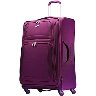 29` DeLite 2.0 Luggage Spinner - Violet - OPEN BOX