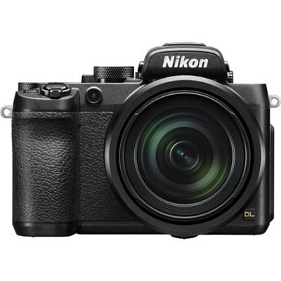 DL24-500 20.8MP 4K UHD Compact Digital Camera w/ 24-500mm f/2.8-5.6 Lens - Black