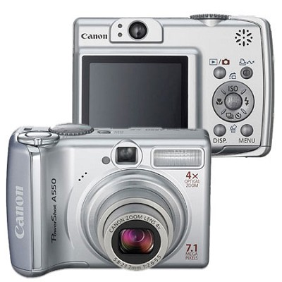 PowerShot A550 Digital Camera