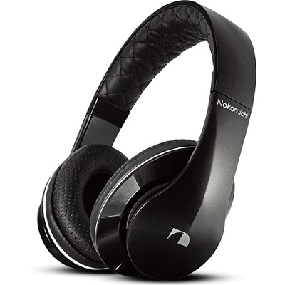 NK950 Series On-The Ear Headphones with Mic - Black