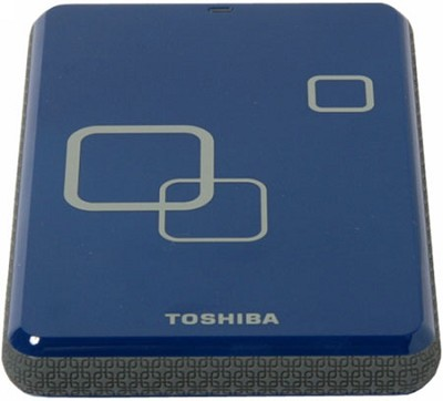 DS TS Canvio HD 750GB USB 2.0 Portable External Hard Drive - Liquid Blue