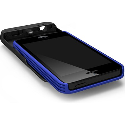 ENERGI Sliding Power Case for iPhone 5/5s - Black/Blue