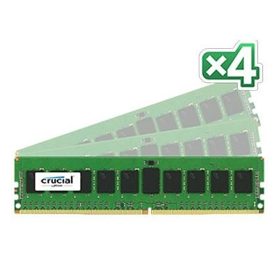 32GB Kit (8GB x 4) DDR4 2133 CL15 SR DIMM Server Memory - CT4K8G4RFS4213