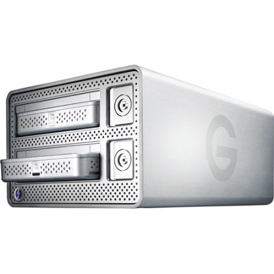 G-DOCK ev with Thunderbolt 2TB External Dual-Hard Drive Storage Solution 0G02719