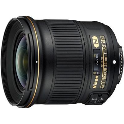 AF-S NIKKOR 24mm f/1.8G ED Wide Angle Lens for Nikon DSLR Cameras - OPEN BOX