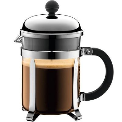 Chambord 4 cup 17 oz. French Press Coffee Maker - Chrome