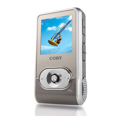MP-C758  MP3 Player w/512 MB Flash Memory, Built In Stereo Speakers, & Color Dis