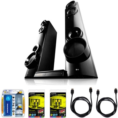 LHB675 1000W X-Boom Home Theater System with Blu-ray 3D Disc Player Bundle