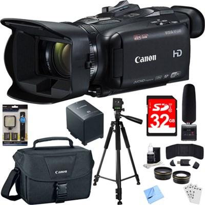 VIXIA HF G40 Camcorder w/ 20x High Definition Zoom Lens Bundle