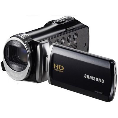 HMX-F90 52X Optimal Zoom HD Camcorder - Black - OPEN BOX