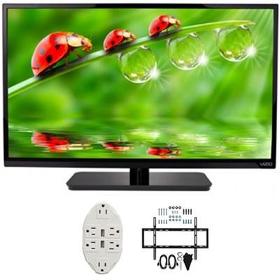 E-Series 32` Class LED HDTV 2017 Model E320-B0E with Wall Mount Bundle