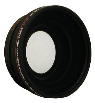 Professional .43x Wide Angle Lens w/ Macro - for 72mm threading