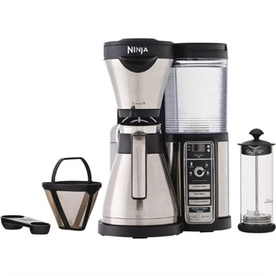 CF086 Coffee Bar Brewer with Thermal Carafe - Stainless Steel/Black