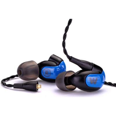W40 Quad Driver Balanced Armature Earphones, Apple Control System + Mic - 78504