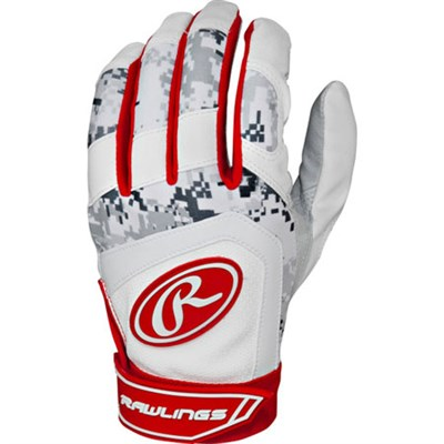 5150 Digi Camo Scarlet Adult Medium Batting Glove