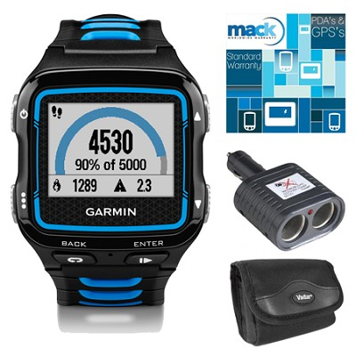 Forerunner 920XT Multisport GPS Watch - Black/Blue Bundle
