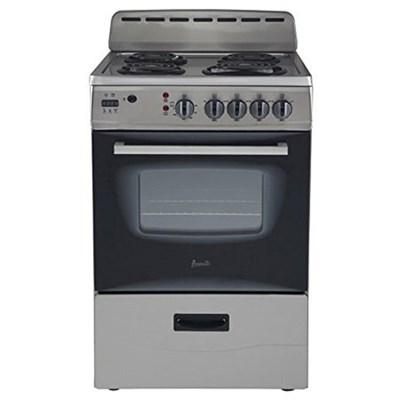 ER24P3SG 24` Freestanding Electric Range with Deluxe See-Thru Glass Oven Door