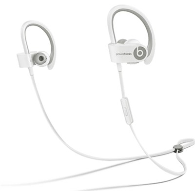 Powerbeats 2 Wireless In-Ear Headphones - White - OPEN BOX