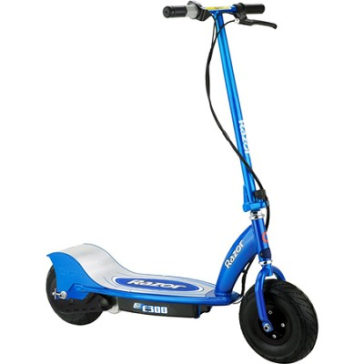 E300 Electric Scooter - Blue - 13113640 - OPEN BOX