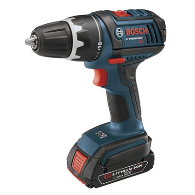 DDS181-02 18V Compact Lithium Ion Drill Driver w/ 2 Slim Pack Batteries