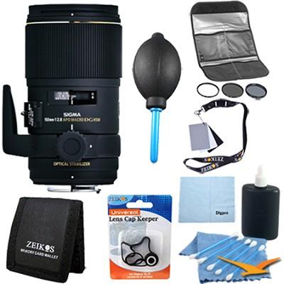 AF 150mm F2.8 APO Macro EX DG OS HSM for Canon EOS DSLRs - Pro Lens Kit