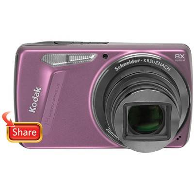 EasyShare M580 14MP 3.0` LCD Digital Camera (Pink)