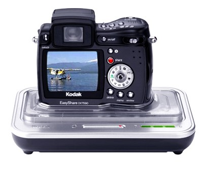 Easyshare DX7590 Digital Camera and Camera Dock