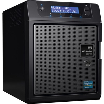 Sentinel 8 TB DS5100 Ultra-compact Storage Plus Server - OPEN BOX