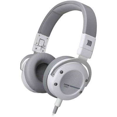 Custom Street Premium Studio Headphones (White)
