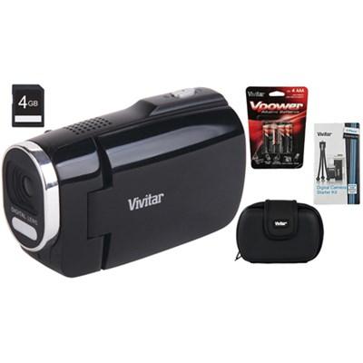Digital Camcorder 945HD Black 4GB Accessory Bundle