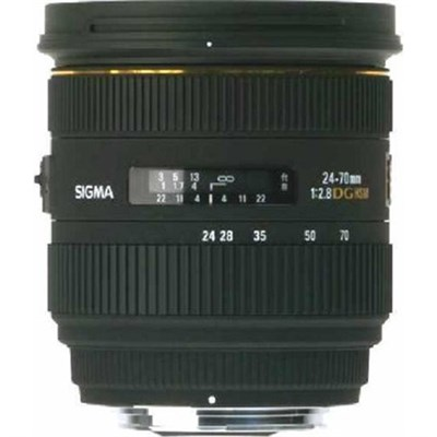 24-70mm F2.8 IF EX DG HSM Lens for Nikon AF - OPEN BOX